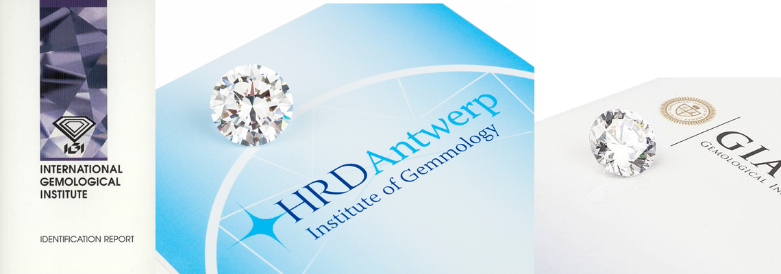 Diamond Certificates Gia Hrd And Igi Diamonds Direct From The